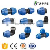 HDPE Fitting PP Compression Fittings for Universal Transition(Male Threaded Adaptor) /PP Fittings