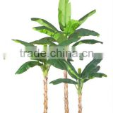 Favorable price artificial banana potted plant,fake artificial plants banana bonsai tree