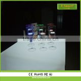 Cheap new products flashing led beer cup, plastic LED flashing cups glass