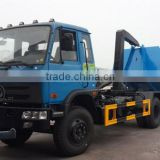 4x2 left hand drive 10 cubic meter waste truck container garbage truck