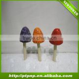 ceramic craft mushroom for garden decoration
