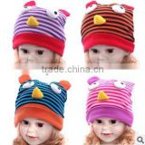 New Design Baby's Knit Strip Hats For Winter