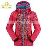 2016 Cheap Breathable Women Brand Ski Jacket