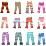 2017 wholesale baby clothes sew sassy baby ruffle pants icing leggings baby clothes