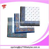 100% Cotton Woven handkerchief, men's handkerchief