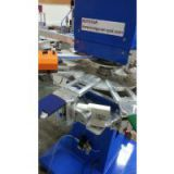2 color Rapid Rotary silk screen printer for garment tag/label