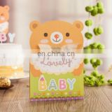 Baby Shower Party Gifts 6033 Lovely Bear Baby Invitation Card