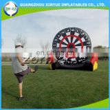 Funny sport inflatable dart board game set