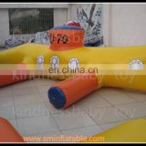 China factory directly sell ! inflatable sports on water , infaltable water totter for adults and children