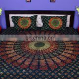 Indian Mandala Duvet Cover Ethnic Quilt Covers Screen Hand Printed Doona Cover With Pillow Cover rh