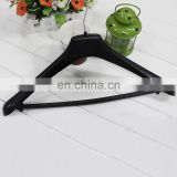 China Supplier Top Quality Black Plastic Suit & Pants Hanger