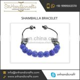 Attractive Range of Eye-Catchy Design Shamballa Bracelet for Sale