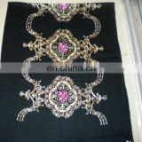 Chinese knot embroider scarf 170*68cm lady's scarf woman shawl