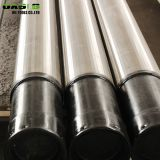 Anti-corrosion pipe based Johnson water well screen/wedge wire screen/wire wrapped screen