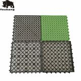 Eco-friendly wpc decking DIY tiles interlocking plastic pedestal