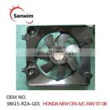 Radiator and Condenser Cooling Fan Assembly 38615-RZA-G01