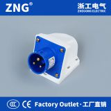 Industrial plug reverse 16A 2P+PE, Industrial plug wall mount, industrial inlet appliance