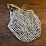 Cotton Mesh Bag, Hand Bag, Shopping Bag With Metal Ring,Tote Bag, Eco Bag, Reusable Grocery Bag,Environment-Friendly,Eco Friendly,Zero Waste