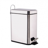 hot sale home hotel rectangle trash bin pedal waste bin