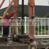 Top grade strong power engineering drilling rig machine for rock layer