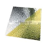 Embossed aluminum sheet ribbed stucco plate for lightning grow light checker ribbed aluminium texture plate