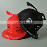 Custom Made 3D Embroidered Snap Back Cap/Flat Bill Hip Hop Snapback/Hiphop Cap