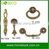 Classic handle drawer pulls brass furniture drop handle