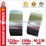 Water Base Acrylic Tape Adhesive Aluminium Foil Tape For Masking