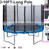 big indoor trampoline without safety net 6ft-16ft