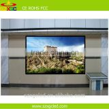 Indoor advertising RGB full color HD rental p4 led display used for Production Promotion