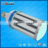 clear cover lens factory warehouse produce line flood lamp application led corn light 22w