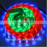 X-mas excellent gift! strip lighting IC 6803 chip led strip 5M 5050 30LEDs/Meter IP67 waterproof flexible LED strip