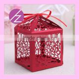 Wholesale wedding supplies festival bag of candy birdcage small cute candy bag for Christmas, Halloween, wedding, birthday party