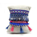 knitted jewelry tassel brazilian bracelet knit jeweler