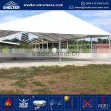Aluminum alloy waterproof, flame redartant, UV-resistant 5x5 aluminum shelter garage tensile carport tent