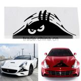 Reflective Waterproof Fashion Funny Peeking Monster Car Sticker vinyl decal decorate sticker car styling