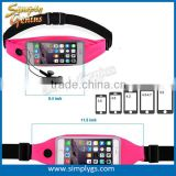 (#1 fitness belt) top fit invisible customize fanny pack sport elastic waist bag waist bag running for iphone samsung huawei