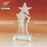Star shape acrylic trophy box QCY-001