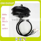 brushless three phase electric motor for car 5000w
