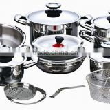 21pcs new product for 2016 for cooking / stainless steel cookware cooking pot cookware set