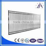 2016 Popular Design Factory Price Portable Used Aluminum Fence