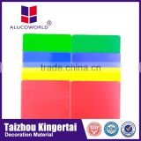 Alucoworld fireproof brick panels aluminum composite sheet interlocking exterior wall panels