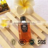 Delicated and beautiful hotel 30ml cosmetic bottle for shampoo and shower gel hotel supplies