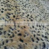animal design fashion fake fur fabric, Knitted Plush Fur Fabrics for Winter dress