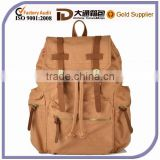 Durable Canvas Impact Cool Canvas Old School Backpack Bag Teenagers Gym Bag For Travel Hiking