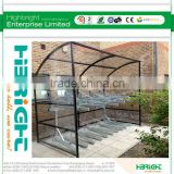 high- quality outdoor carport for bicycle shed/bike shelter/ bicycle carport