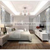 2015 New Fashion Classic style cheap waterproof living room 3d wallpaper for home decoration