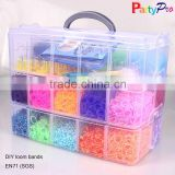 You Like Most Colorful DIY Crazy Elastic Band Weaving Loom Rubber Band