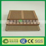 Anti-aging Solid Wood Plastic Composite WPC Decking Timber