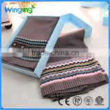 Factory wholesale 100% Cotton Air Conditioning Baby Bedding Blanket knitted baby throw blanket